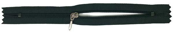 YKK #3 Coil Pocket Zipper - 7 inch - Dark Forest Green