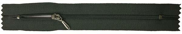 YKK #3 Coil Pocket Zipper - 7 inch - Dark Olive