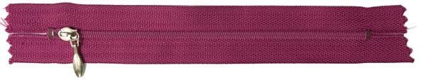 YKK #3 Coil Pocket Zipper - 7 inch - Fuchsia
