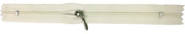 YKK #3 Coil Pocket Zipper - 12 inch - Ivory
