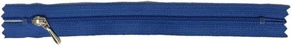 YKK #3 Coil Pocket Zipper - 7 inch - Royal