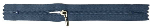 YKK #3 Coil Pocket Zipper - 7 inch - Slate Blue