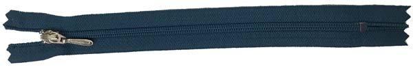 YKK #3 Coil Pocket Zipper - 7 inch - Teal