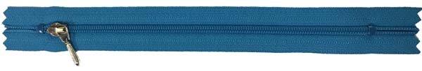YKK #3 Coil Pocket Zipper - 7 inch - Turquoise