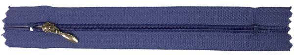 YKK #3 Coil Pocket Zipper - 7 inch - Violet