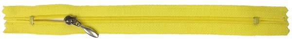 YKK #3 Coil Pocket Zipper - 7 inch - Yellow