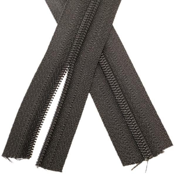 YKK #3 Coil Zipper Tape - Black
