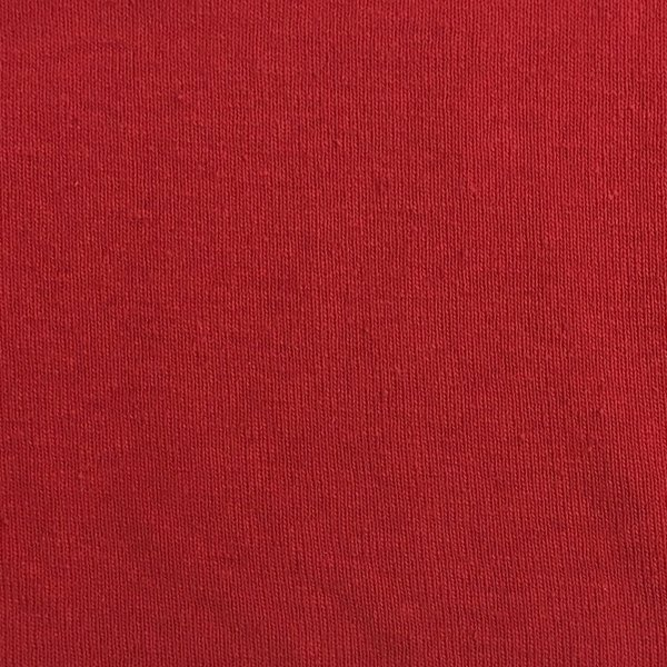 Sweatshirt Ribbing - Dark Red