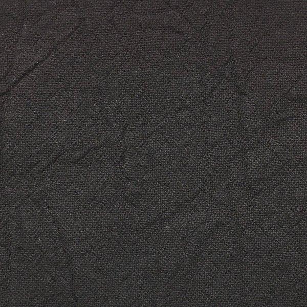 Cotton Crinkle Woven - Black