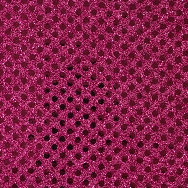 Dot Sequins - Fuchsia
