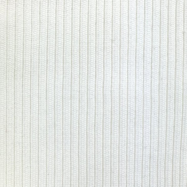 760 Textured Ribbing - White