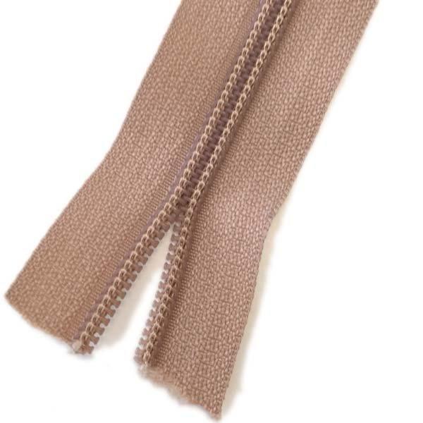 YKK #5 Coil Zipper Tape - Tan
