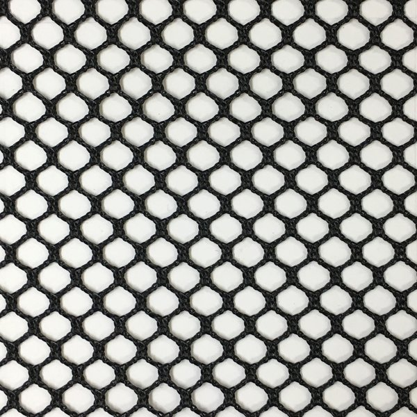 Soft Coarse Poly Netting - Black