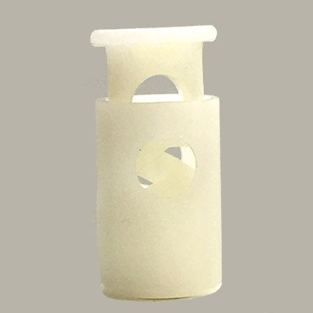 All Plastic Barrel - White