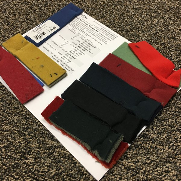 3354 Polartec Wind Pro Color Swatch Set
