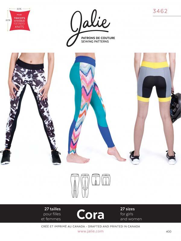 Jalie 3462 - CORA Tights & Shorts