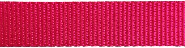 Heavy Nylon Web - 1 inch - Hot Pink