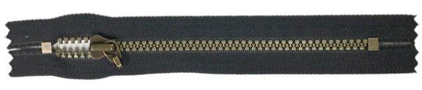 YKK #5 MT Pocket Zipper Old Style - 7 inch - Black