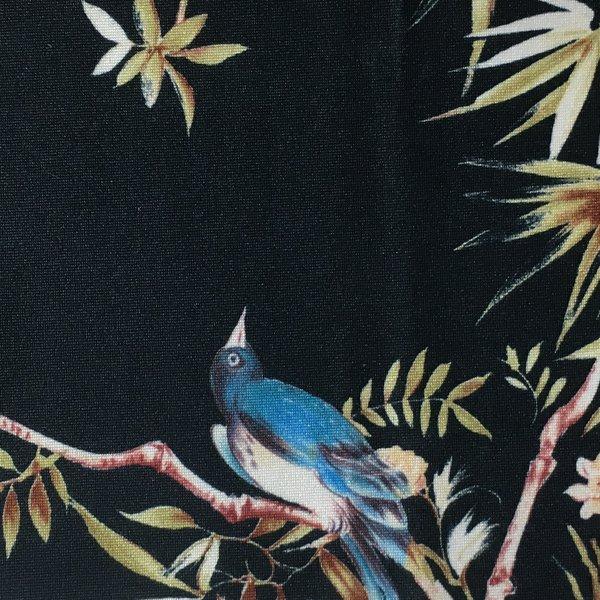 Bird on Twig - Black