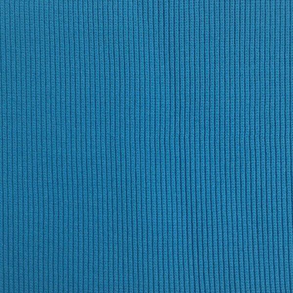 1x1 Tubular Rib - Turquoise