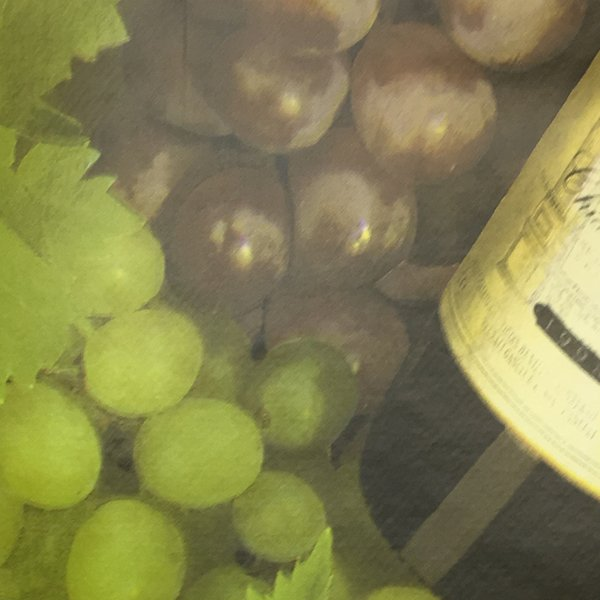 Fiesta Printed PVC - Wine/Grapes
