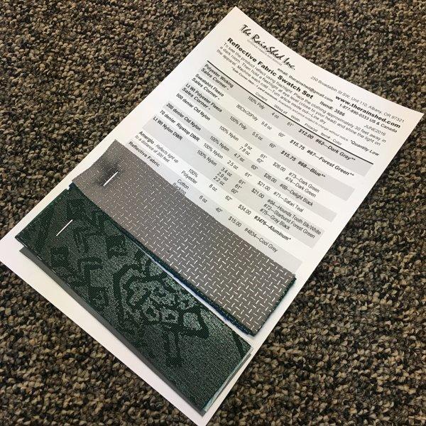 3586 Reflective Fabric Swatch Set