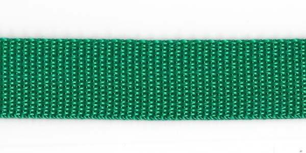 Polypropylene Web - 1 inch - Kelly Green