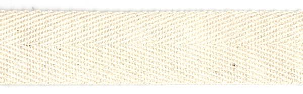 Twill Tape Cotton - 1 inch - Natural