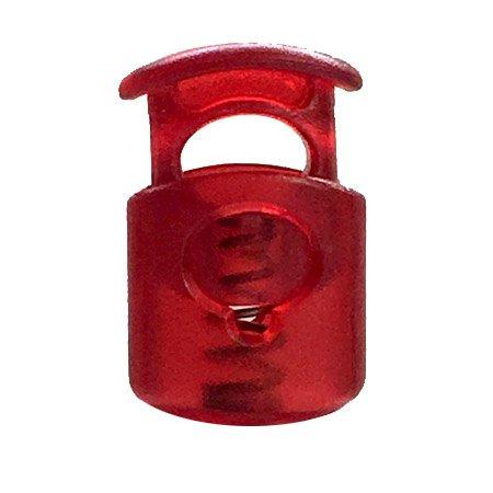 Short Ellipse Toggle - Red Transparent