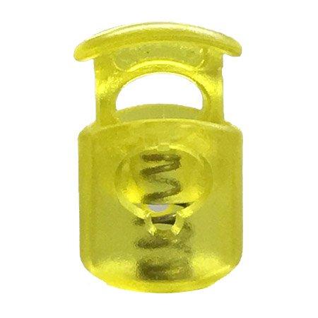 Short Ellipse Toggle - Yellow Transparent
