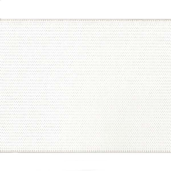 3 inch - Action Elastic - White