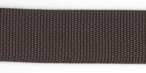 Polypropylene Web - 1 1/2 inch - Brown