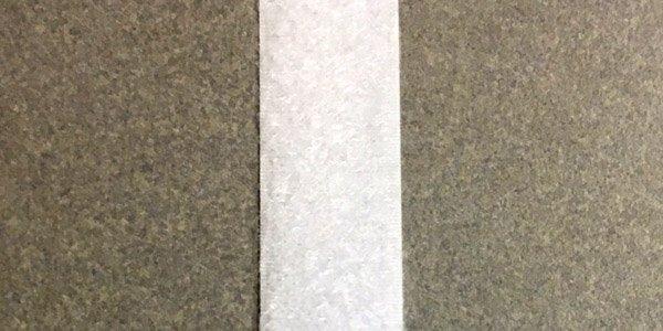 3/4 inch - Velcro Loop - White