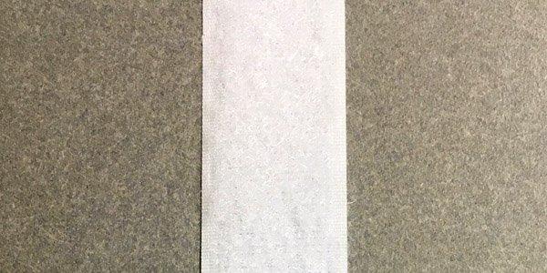 1 inch - Standard Loop - White