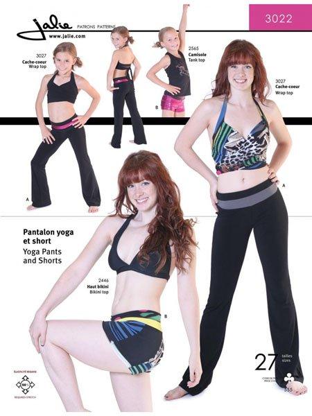 Jalie 3022 - Yoga Pants