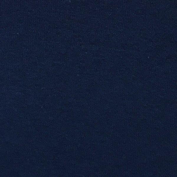Organic Cotton Ribbing - Navy