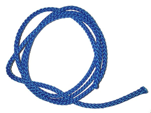 1/8 inch - Round Polypropylene Cord - Blue