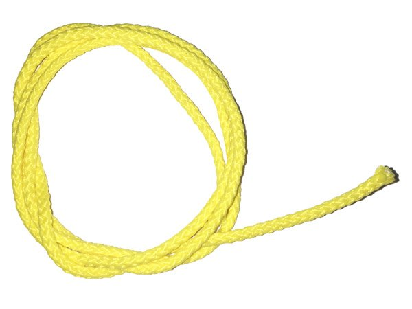 1/8 inch - Round Polypropylene Cord - Yellow