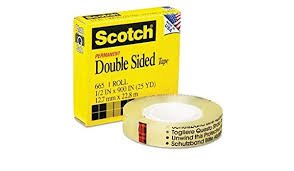 3M 665 Permanent Double Sided Film Tape