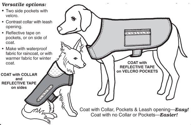 GP553 - Warm & Dry Dog Coat