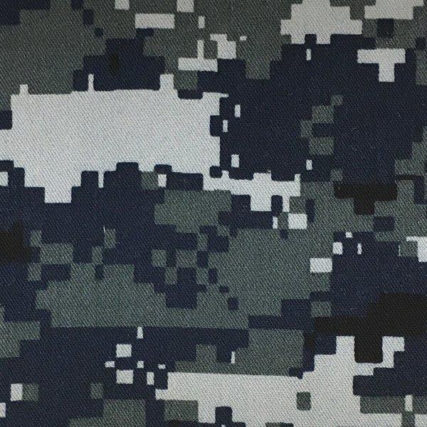 Cotton Twill - US Navy Camouflage