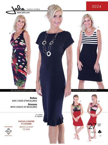 Jalie 3024 - Knit Dress