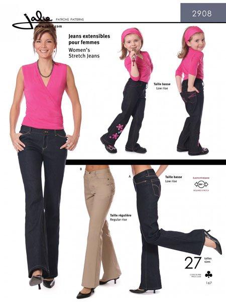 Jalie 2908 - Stretch Jeans