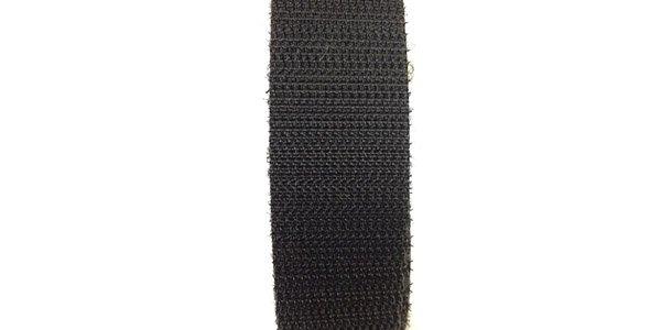 3/4 inch - Double-Sided Hook & Loop - Black