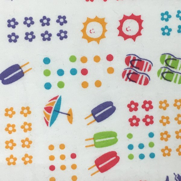 Cotton Knit Jersey - Summertime