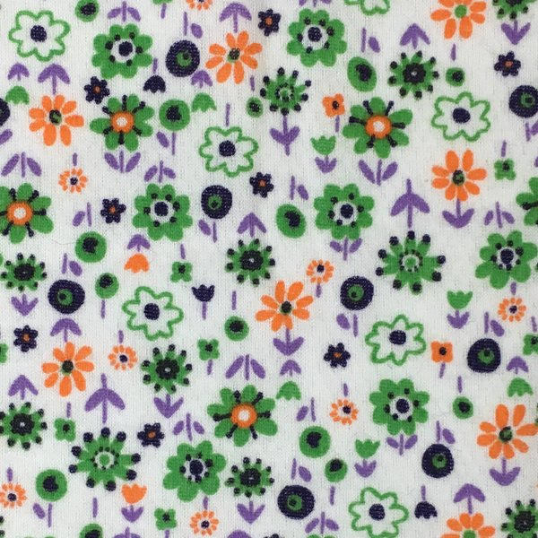 Cotton Knit Jersey - Flower Power