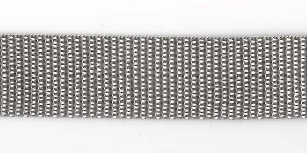 Polypropylene Web - 1 inch - Grey