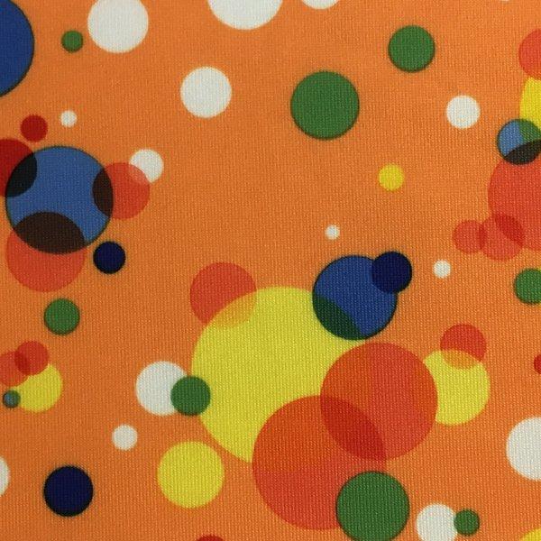 Multicolored Dots - Orange