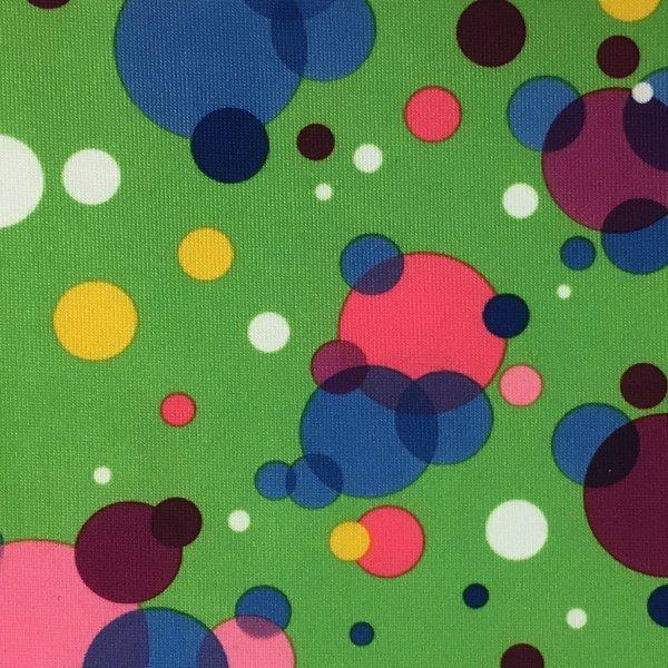 Multicolored Dots - Green