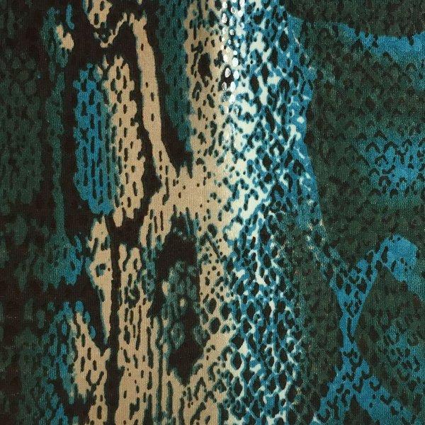 Snake Skin - Turquoise